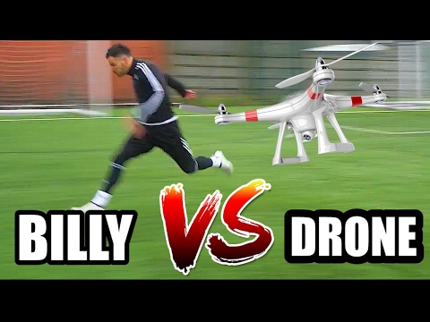 HUMAN VS DRONE! WHO IS FASTER???
