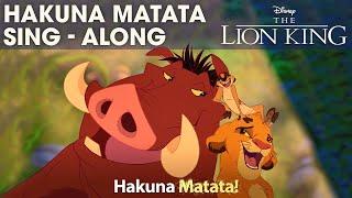 DISNEY SING-ALONGS   Hakuna Matata - The Lion King Lyric Video   Official Disney UK