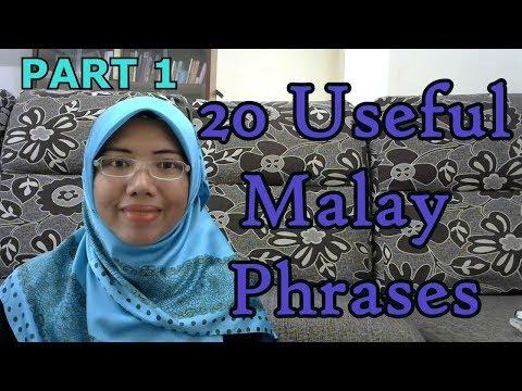 Xxx Mp4 LEARN MALAY 98 20 Useful Malay Phrases 1 3gp Sex