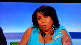 family feud  - MOM - Worst Contestant Ever Leaves Steve Harvey Speechless