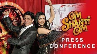 Om Shanti Om | Press Conference | Deepika Padukone, Shah Rukh Khan, Shreyas Talpade & Arjun Rampal