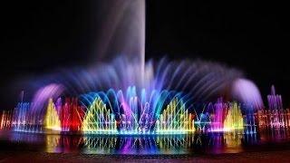 Dubai _ Sharjah Dancing color Fountain My shooting