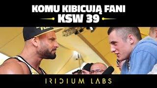 ⭐️⭐️⭐️KSW 39: Oficjalne ważenie: Komu kibicują fani KSW ? - Wywiad Iridium Labs