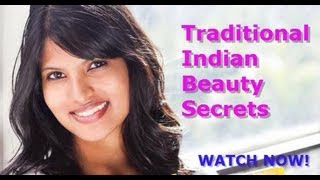 Traditional Indian Beauty Secrets