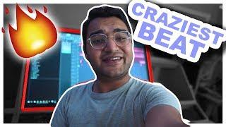 I made the hardest beat EVER *Crazy* (FL Studio Beat Making VLOG)