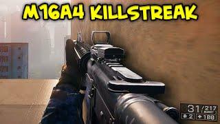 BATTLEFIELD 4 - 63 Killstreak M16A4 Assault Rifle Gameplay 69-4 Flood Zone