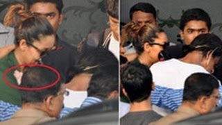 SPOTTED: SRK Hiding AbRam | Hindi Latest News | Gauri Khan, Aryan, Suhana, Airport