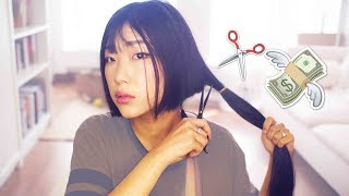 CHOPPING & SELLING ALL MY HAIR (by Myself) 💇✂💸