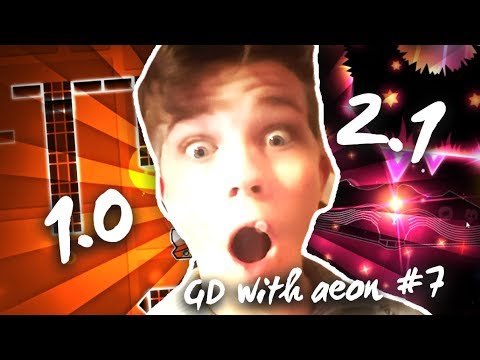 Xxx Mp4 ONE LEVEL FROM EVERY UPDATE IN GEOMETRY DASH GD W Aeon 7 GD 2 11 3gp Sex