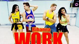 Rihanna - WORK Choreography / Coreografia - Remix