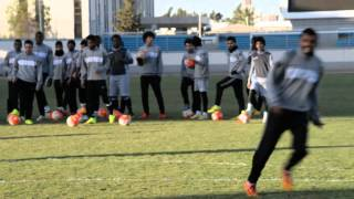 تمرين الفريق الاول  بالاستاد الرياضي استعداد للمجزل ( 2 )