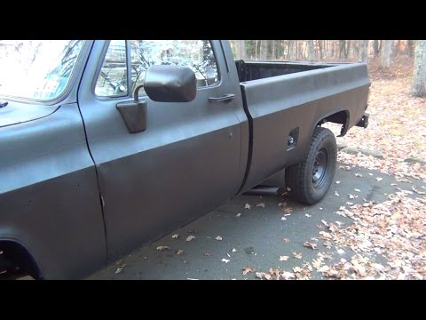 Flowmaster Super 10 (Before & After) 86' Chevy K20 Dual Exhaust (Chevy Small Block 350 V8)