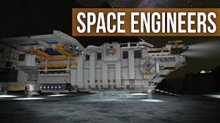 Space Engineers - Combat Fighter Construction (Modded Survival Coop) Ep 27
