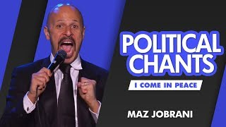 """Political Chants"" - MAZ JOBRANI (I Come In Peace)"