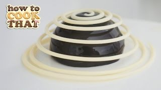 CHOCOLATE SPIRAL DESSERT RECIPE How To Cook That Ann Reardon