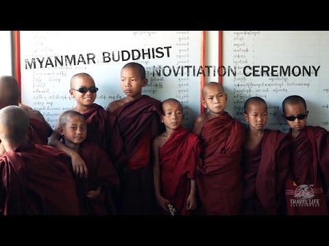 Xxx Mp4 Buddhist Novitiation Ceremony In Myanmar 3gp Sex