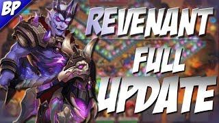 Castle Clash The Full Update! (Revenant)