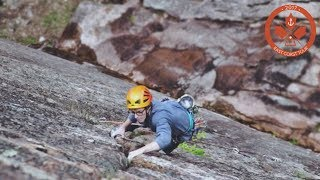 Danger: Louis Parkinson Tries Trad Climbing