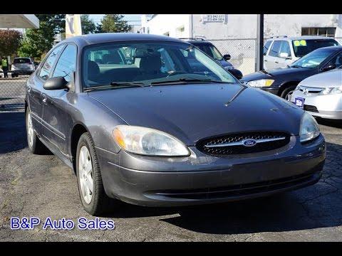 2003 Ford Taurus LX Sedan