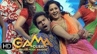 Yamuna,Kaushik Dance Performance in ETV GAMA Music Awards 2015 - 6th March 2016