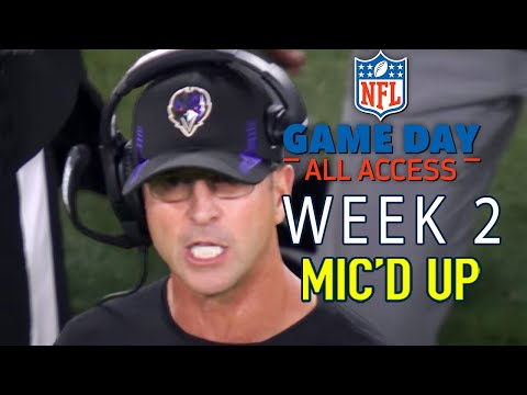 NFL Week 2 Mic d Up Lamar Do You Want to Go For This Game Day All Access 2021