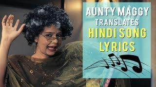 Weirdest Hindi Song lyrics, funniest bollywood songs in 'Maggy's Lyrical Looney Tunes'