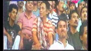 Si Kabayan nonton Persib vs Persija