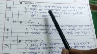 Lesson plan  ( BENGALI SUBJECT) for only B.ED & D.EL.ED, REGULAR B.ED & D.EL.ED LESSON PLAN FORMAT