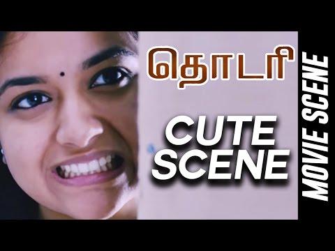 Thodari - Cute Scene | Dhanush | Keerthy Suresh | D.Imman