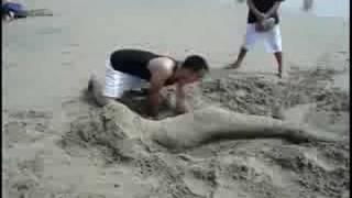 Mermaid in the Sand