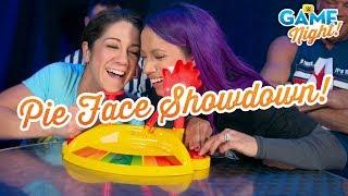 WWE Superstars play Pie Face Showdown: WWE Game Night