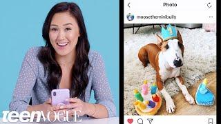 LaurDIY Breaks Down Her Favorite Instagram Accounts | Teen Vogue