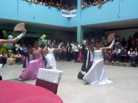 Baile Antañon Caraqueño 5º C Liceo Ejido 2008 2009. Academia Eclipse Music