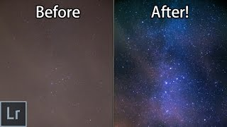 Star And Milky Way Photography - How To Turn Your Boring Photos AWESOME With Lightroom!
