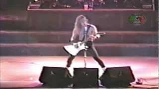 Metallica - Fight Fire With Fire - Canada - 1986