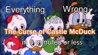 Everything Wrong With The Curse of Castle McDuck in 6 minutes or less
