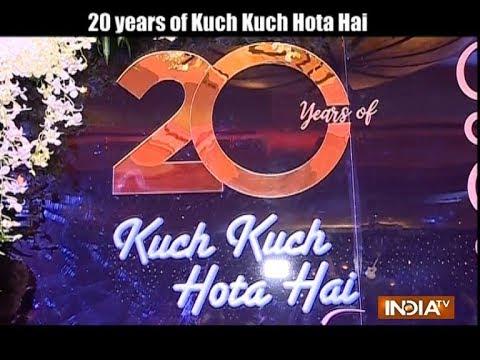 Xxx Mp4 20 Years Of Kuch Kuch Hota Hai Celebration Kajol Shah Rukh Rani And Others Party Hard 3gp Sex