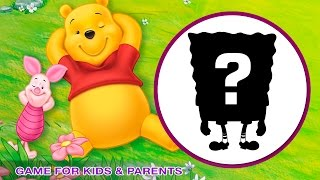 CARTOONS | Cartoon Character Game for Kids & Parents | Quiz | Kids Channel