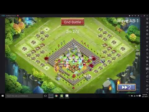 Castle Clash - OP Gunslinger (Non Evolve) HBM-AB