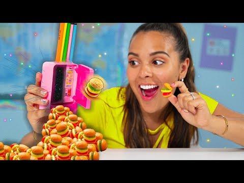 Learn How to Sneak Food into Class Edible DIY Gummy School Supplies Prank Your Teacher