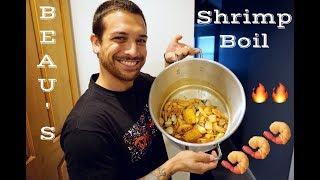 Shrimp Boil Recipe  Food Vlog