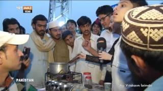 Pakistan Lahor Sokaklarında Satılan Gıda Ürünleri - TRT Avaz