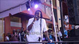 Mikey Spice I am I Said (live) @ Celebrity Soccer Cultural Fest 2017
