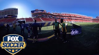 Whitmore and Bradley discuss challenges of playing Jamaica | 360 VIDEO | 2017 CONCACAF GOLD CUP
