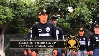 CURSO PARA ESCOLTAS Y PROTECTORES V.I.P.