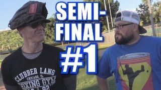 FIREBALL VS. SOUP! | Offseason Softball League | Semi-Final #1