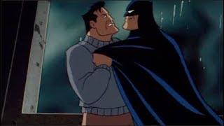 Batman vs Mad Hatter (disguised as Batman)