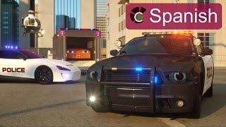 Sargento Cooper, la Patrulla de Policía (SPANISH) - Verdaderos Héroes de Ciudad - Videos para niños