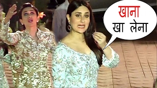 Kareena & Karishma's Sweetest Act Of Kindness For Reporters At Randhir's Birthday Party 2017