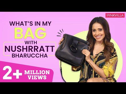 Xxx Mp4 What S In My Bag With Nushrat Bharucha Fashion Bollywood Pinkvilla 3gp Sex